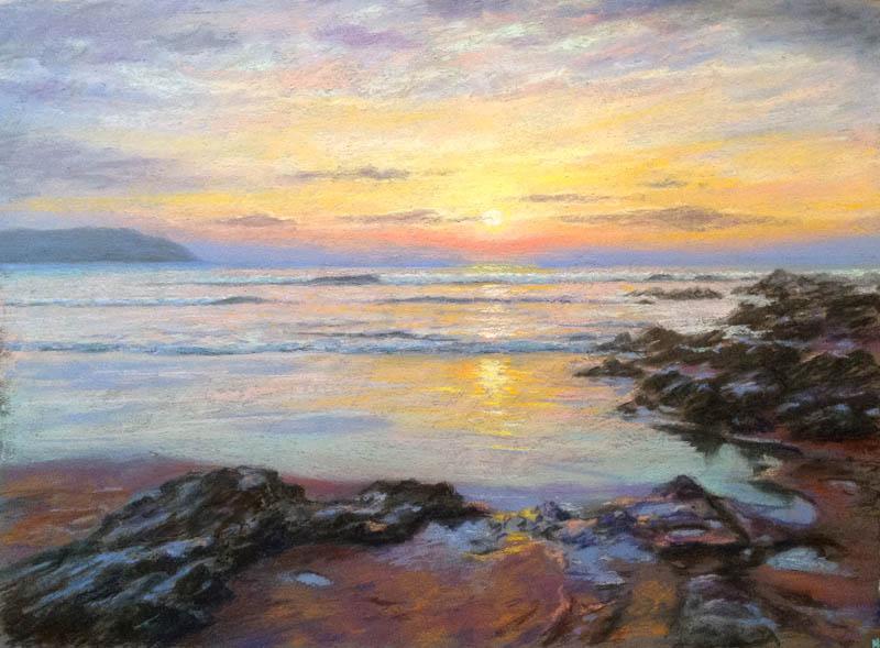 Woolacombe sunset