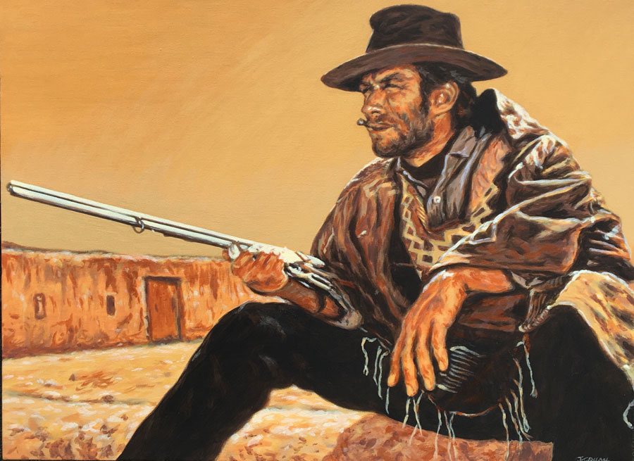 Clint Eastwood A Fistful of Dollars
